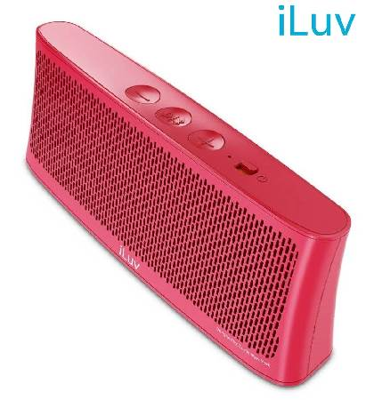 PARLANTE ILUV BLUETOOTH BT SPEAKER PINK (PN WAVECASTPN)