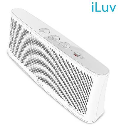 PARLANTE ILUV BLUETOOTH BT SPEAKER WHITE (PN WAVECASTWH)