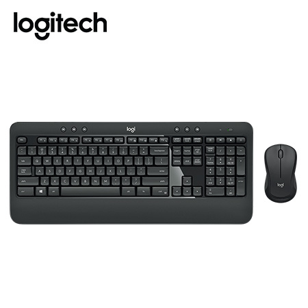 TECLADO LOGITECH + MOUSE MK540 WIRELESS USB SP BLACK (PN 920-008673)