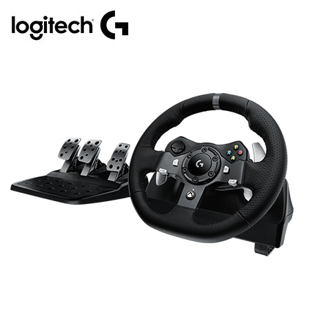 TIMON C/PEDAL LOGITECH G920 RACING WHEEL XBOX/PC USB BLACK (PN 941-000122)