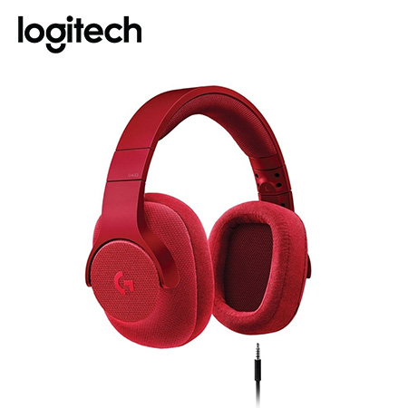 AUDIFONO C/MICROF. LOGITECH G433 7.1 RED (981-000651)