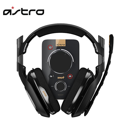 AUDIFONO C/MICROF. ASTRO A40TR FOR PS4 + MIXAMP PRO TR BLACK (PN 939-001511)