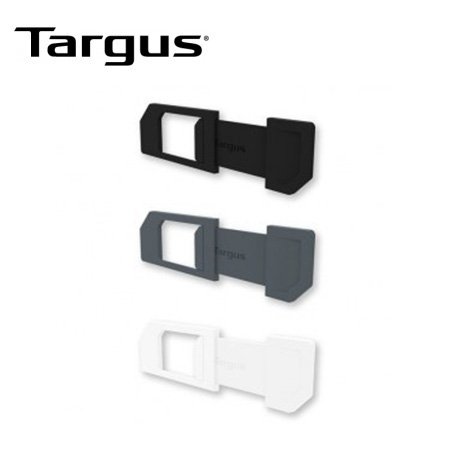 COBERTOR TARGUS DE CAMARA WEB P/LAPTOP PACK 3 BLACK/GREY/WHITE (PN AWH012US)