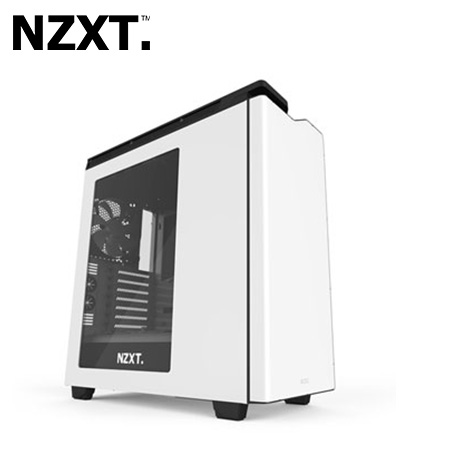 CASE NZXT H440 MID TOWER WHITE/BLACK USB 3.0 (PN CA-H442W-W1)