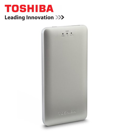 DISCO SOLIDO EXT.TOSHIBA 128GB CANVIO AEROMOBILE WIRELESS SILVER (PN HDTQ112XCWF1)