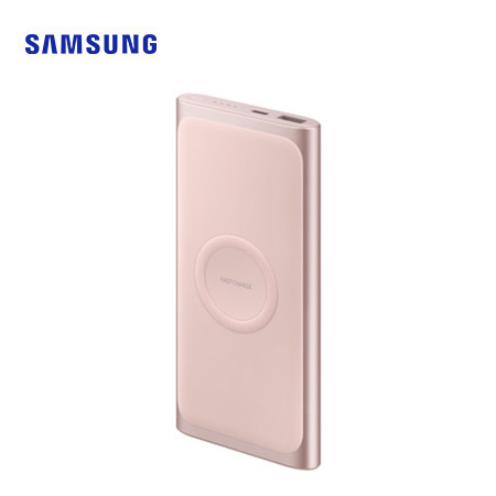 CARGADOR INALAMBRICO SAMSUNG FAST CHARGING TYPE C MARTIAN PINK  (PN EB-U1200CPEGWW)