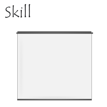 "ECRAN DE PARED SKILL PS-70IW FOR PROYECTING 72"" (PN PS-70IW)"