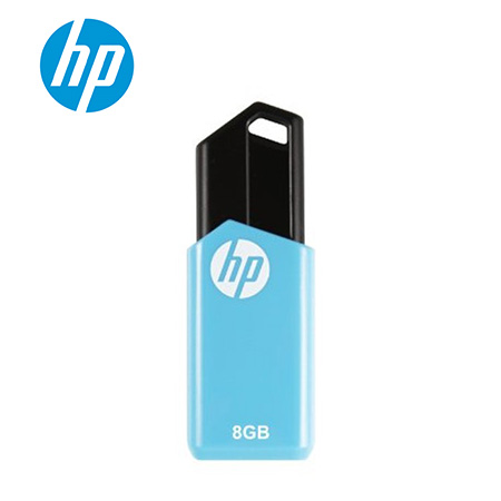MEMORIA HP USB V150W 8GB BLUE/BLACK (PN HPFD150W-08)