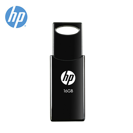 MEMORIA HP USB V212W 16GB RETRACTIL BLACK (PN HPFD212B-16)