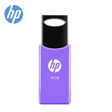 MEMORIA HP USB V212W 16GB RETRACTIL PURPLE (PN HPFD212P-16)