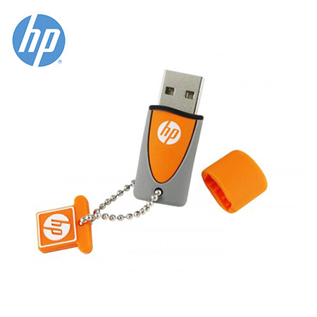 MEMORIA HP USB V245O 32GB ORANGE/GRAY (PN HPFD245O-32P)