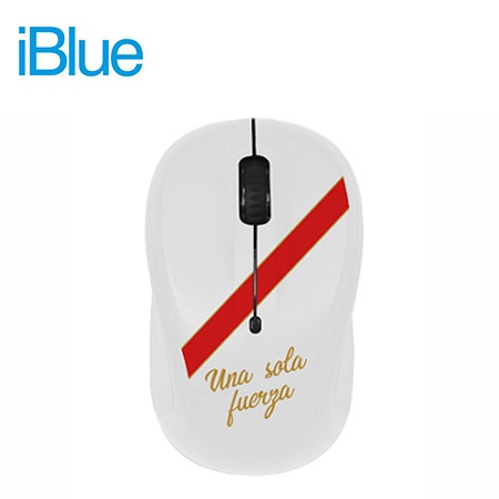 MOUSE IBLUE OPTICAL WIRELESS USB MO253 PERU WHITE (PN MO253-PER)