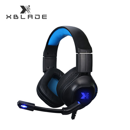 AUDIFONO C/MICROF. XBLADE GAMING MONSTER HG8944 BLACK/BLUE (PN GXB-HG8944)