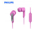 AUDIFONO PHILIPS SHE1405 C/MICROF. PINK (PN SHE1405PKS/27)*