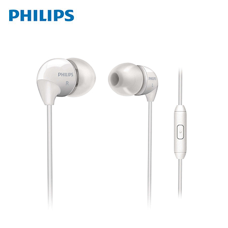 AUDIFONO C/MICROF. PHILIPS SHE3595WT WHITE(PN SHE3595WT/00)*