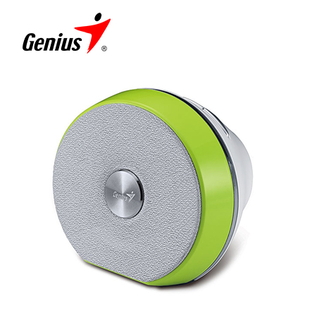 PARLANTE GENIUS SP-900BT 2W BLUETOOTH WHITE/GREEN (PN 31730032102)