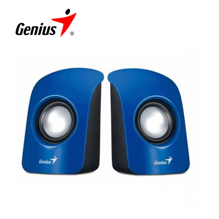 PARLANTE GENIUS SP-U115 USB POWER 3W BLUE (PN 31731006102)