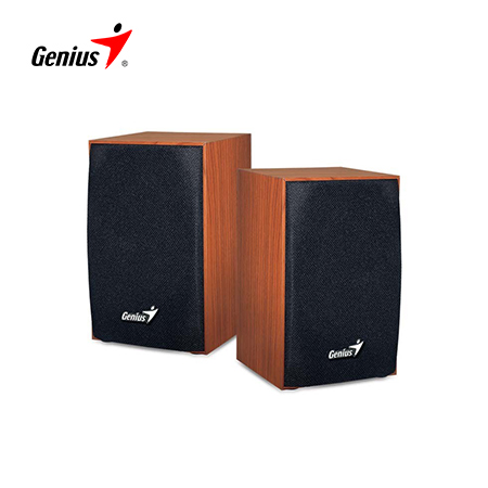 PARLANTE GENIUS SP-HF160 4W USB POWERED WOOD (PN 31731063101)