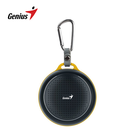 PARLANTE GENIUS SP-906BT 3W BLUETOOTH BLACK/YELLOW (PN 31731072100)