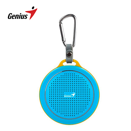 PARLANTE GENIUS SP-906BT 3W BLUETOOTH BLUE/YELLOW (PN 31731072101)