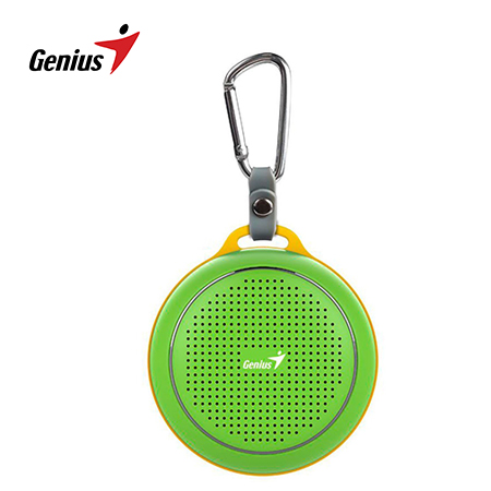 PARLANTE GENIUS SP-906BT 3W BLUETOOTH GREEN/YELLOW (PN 31731072102)