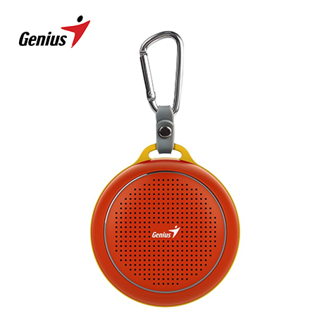 PARLANTE GENIUS SP-906BT 3W BLUETOOTH RED/YELLOW (PN 31731072104)