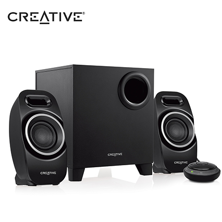 PARLANTE CREATIVE T3250 BLUETOOTH 2.1 BLACK (PN 51MF0450AA000)