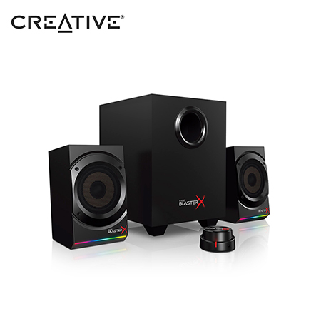 PARLANTE CREATIVE GAMING KRATOS S5 SBX 2.1 RGB BLACK (PN 51MF0470AA000)