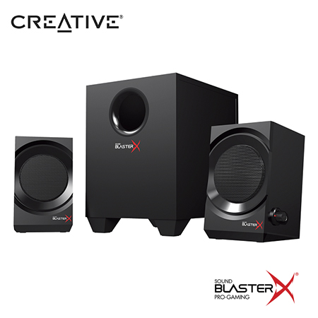 PARLANTE CREATIVE GAMING KRATOS S3 SBX 2.1 BLACK (PN 51MF0475AA000)