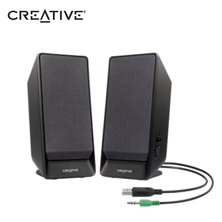PARLANTE CREATIVE A50 2.0 USB POWER 1.6 W BLACK (PN 51MF1675AA001)