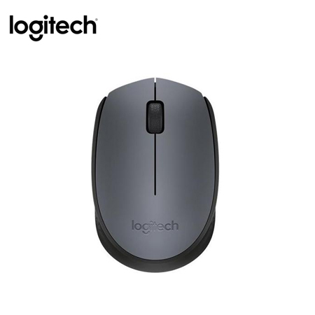 MOUSE LOGITECH M170 WIRELESS GRAY (PN 910-004425)