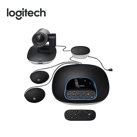 CAMARA LOGITECH GROUP BUNDLE CONFERENCE WEBCAM BLACK (PN 960-001060)