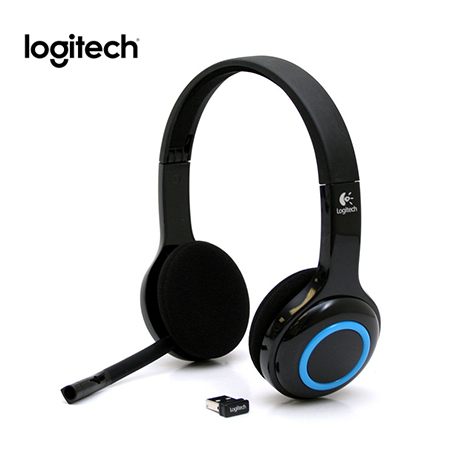 AUDIFONO C/MICROF. LOGITECH H600 WIRELESS BLACK (PN 981-000341)