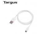 CABLE MICRO USB-USB TARGUS P/SMARTPHONE 1M WHITE (PN ACC96601BT)