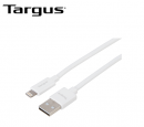 CABLE USB TARGUS P/SMARTPHONE & TABLET CARGA/SINCRONIZACION 3M LIGHTNING WHITE (PN ACC98201BT)
