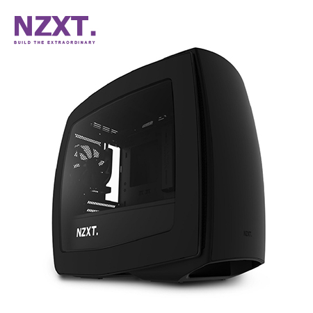 CASE NZXT MANTA MINI ITX MATTE BLACK/BLACK (PN CA-MANTW-M1)