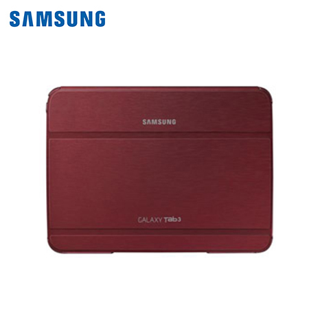 "ESTUCHE SAMSUNG P/GALAXY TAB3 10"" BOOK COVER GARNET RED (EF-BP520BREGWW)*"