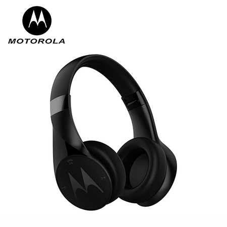 AUDÍFONO MOTOROLA WIRELESS BLUETOOTH STEREO PULSE ESCAPE BLACK (PN SH012BK)