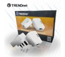 KIT ADAPTADOR TRENDNET NANO POWERLINE 200 AV WHITE(PN TPL-308E2K)