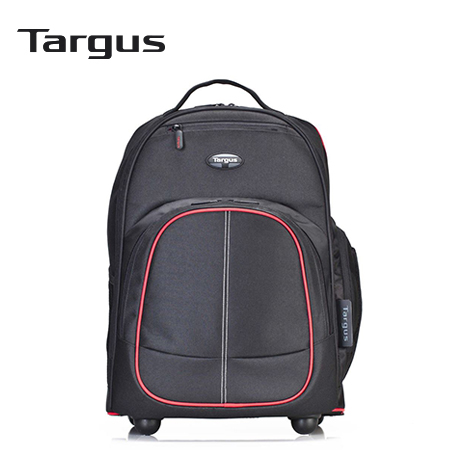 "MOCHILA TARGUS COMPACT ROLLING BACKPACK 16"" BLACK/RED (PN TSB75001US)"
