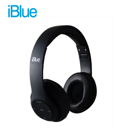 AUDIFONO C/MICROF. IBLUE SCREAM M028 BLUETOOTH/FM/MICRO SD BLACK (PN M028-BK)
