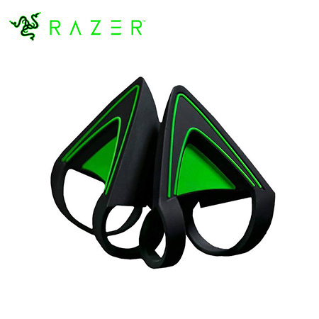 ACCESORIO P/ AUDIFONO.RAZER KITTY EARS GREEN (RC21-01140200-W3M1)
