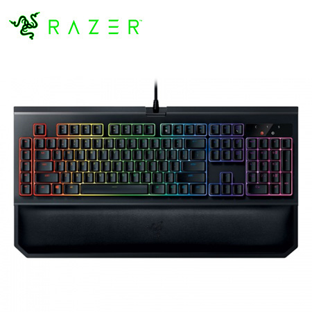 TECLADO RAZER BLACKWIDOW CHROMA MECHANICAL GAMING V2 USB BLACK SP (PN RZ03-02031300-R311)*