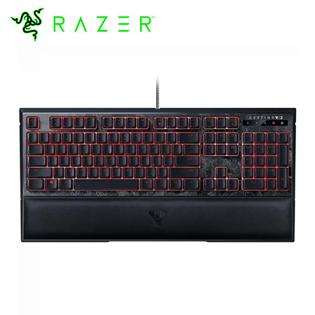 TECLADO RAZER ORNATA CHROMA DESTINY 2 GAMING USB BLACK (PN RZ03-02043400-R3M1)