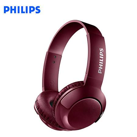 AUDIFONO C/MICROF. PHILIPS SHB3075RD BLUETOOTH RED (SHB3075RD/00)-PM*
