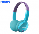 AUDIFONO C/MICROF. PHILIPS FOR KIDS BLUETOOTH SHK4000 (PN SHK4000PP/00)*