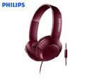 AUDIFONO C/MICROF. PHILIPS DEEJAY SHL3075RD RED (PN SHL3075RD/00)*
