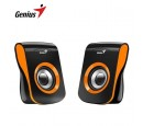 PARLANTE GENIUS SP-Q180 USB POWER 6W ORANGE (PN 31730026402)