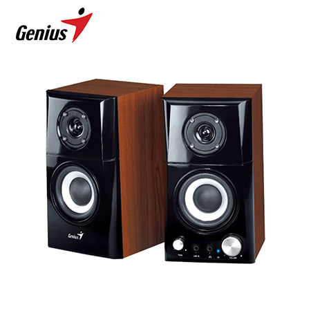 PARLANTE GENIUS SP-HF500A 14W USB POWERED WOOD (PN 31730905100)