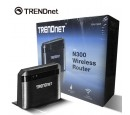 ROUTER TRENDNET N300 WIRELESS BLACK (TEW-732BR)